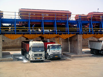 Rail-bulk terminal established by PTB Group